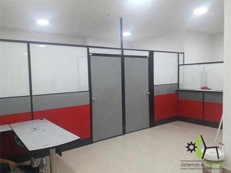 Divisiones para oficina sistemas y muebles bucaramanga for Divisiones de oficina